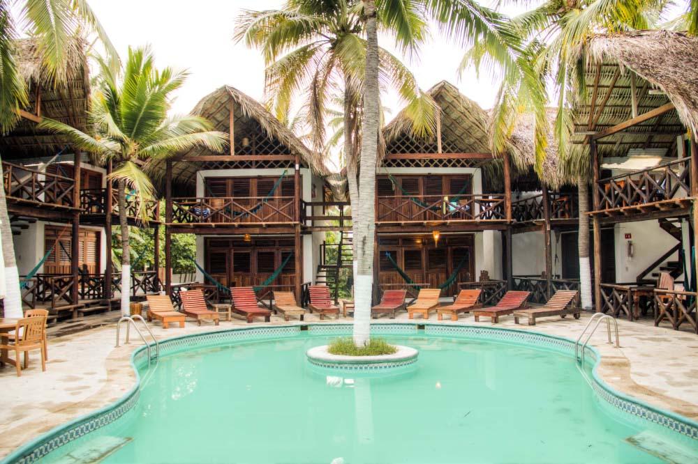 Hotels, bars & restaurants in Zipolite